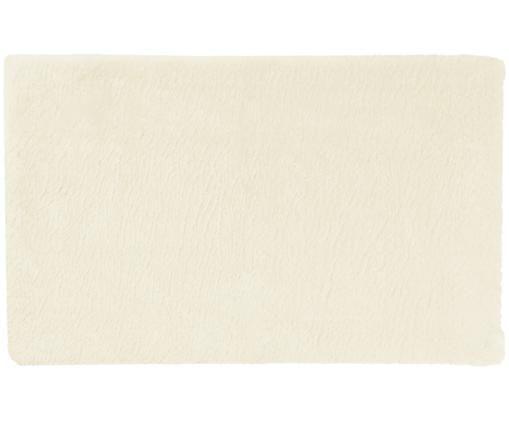 Tappeto bagno antiscivolo Faro, Retro: TPR (gomma termoplastica), Bianco latte, Larg. 50 x Lung. 80 cm