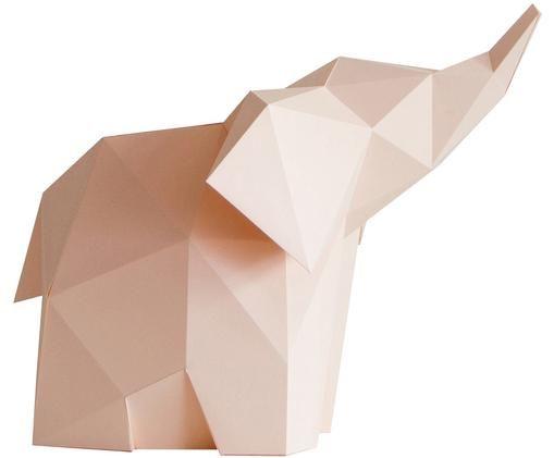 Lampe à poser à LED Baby Elephant, kit de construction, Rose