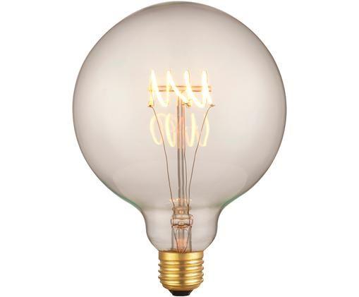 Żarówka LED z funkcją przyciemniania Colors Globe (E27/2W), Szkło, metal powlekany, Transparentny, Ø 13 x W 18 cm