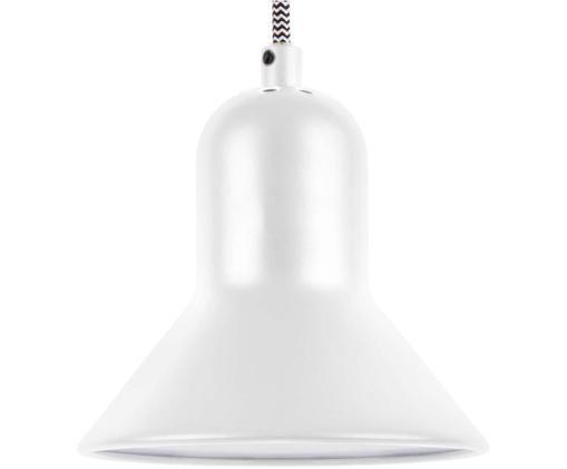 Pendelleuchte Slender, Lampenschirm: Metall, Weiß, Ø 14 x H 17 cm