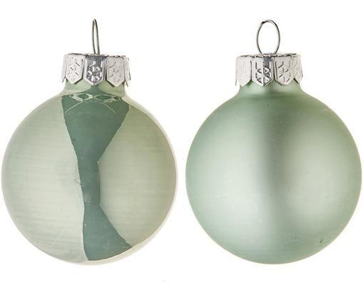 Set mini palline di Natale Evergreen, 16 pz., Verde