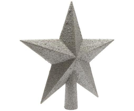 Puntale per albero di Natale Morning Star, Argento