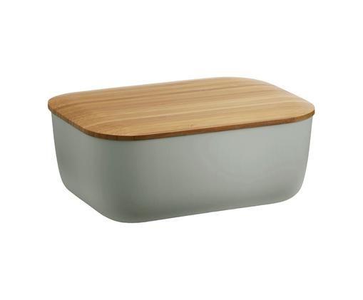 Maselniczka Box-It, Szary, drewno bambusowe