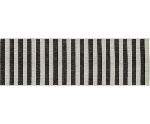 Chodnik wewnętrzny/zewnętrzny Axa, Biały, czarny, S 80 x D 250 cm
