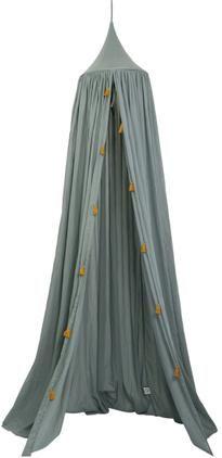 Betthimmel Canopy aus Bio-Baumwolle