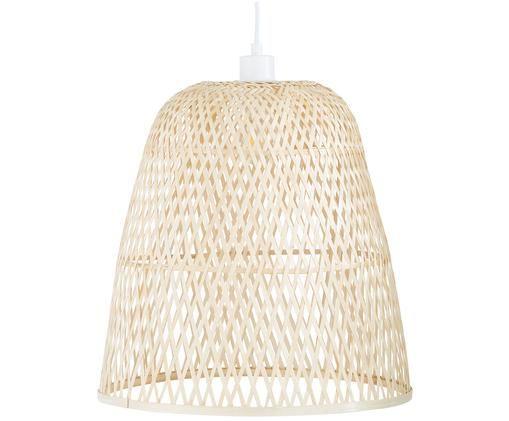 Lampada a sospensione in bambù Eve, Paralume: bambù, Bambù, Ø 40 x Alt. 40 cm