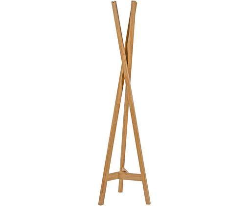 Appendiabiti Clift, Legno di quercia, massiccio, Legno di quercia, Larg. 35 x Alt. 175 cm