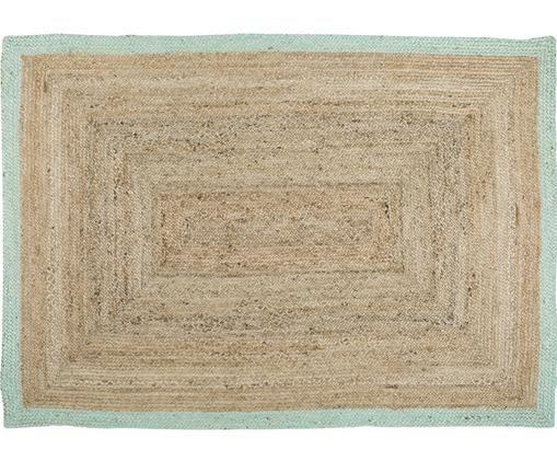 Handgefertigter Jute-Teppich Shanta