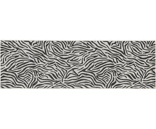 Tapis de couloir intérieur-extérieur imprimé zèbre Exotic