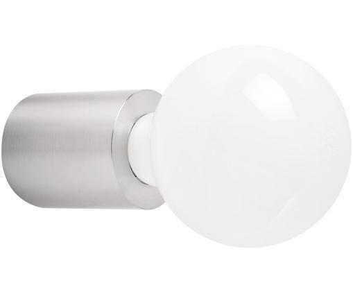 Applique dimmerabile senza lampadina Multi, Alluminio verniciato, Nichel opaco, Ø 6 x Prof. 7 cm