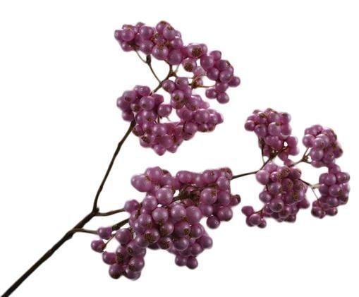 Sztuczny kwiat jagody Balu, Ciemny różowy