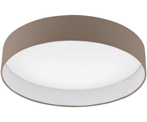 Plafoniera a LED Paloma, Taupe, Ø 50 x Alt. 11 cm