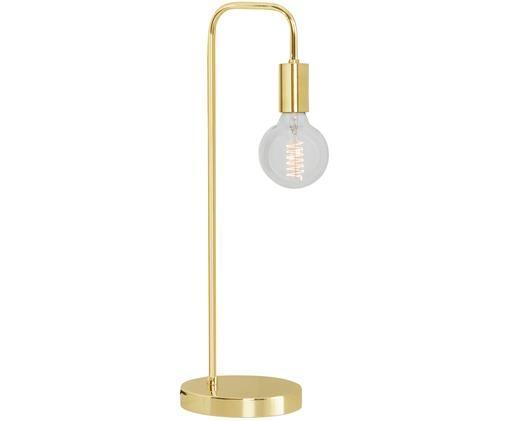 Schreibtischlampe England in Gold