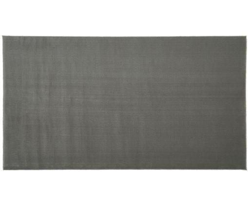 Wollteppich Ida in Grau, Flor: Wolle, Grau, B 60 x L 110 cm (Größe XXS)