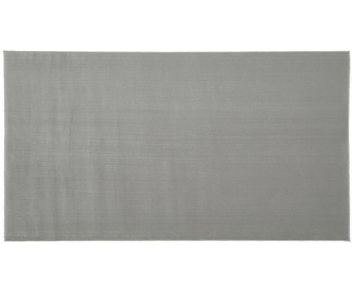 Wollteppich Ida in Grau, Flor: Wolle, Grau, B 60 x L 110 cm (Grösse XXS)