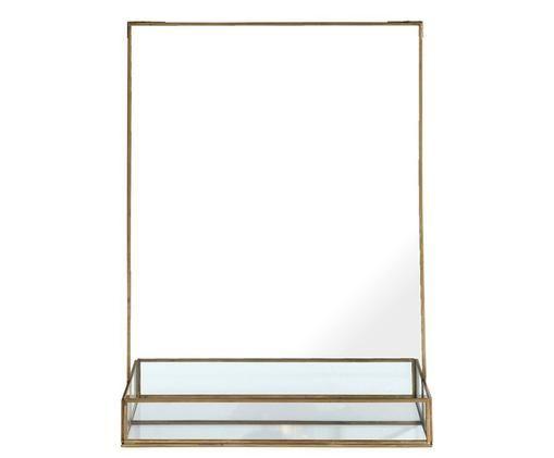 Specchio da parete Stella, Ottone