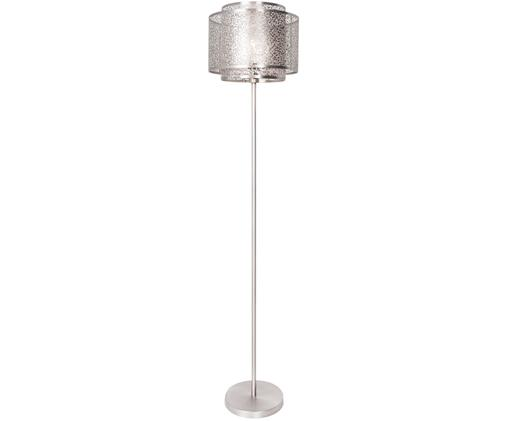 Lampadaire en nickel ajouré Mesh, Nickel