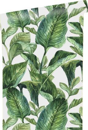 Selbstklebende Tapete Leaves