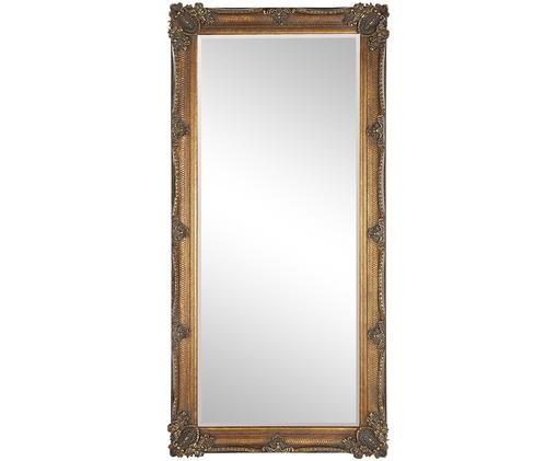 Miroir, Couleur dorée