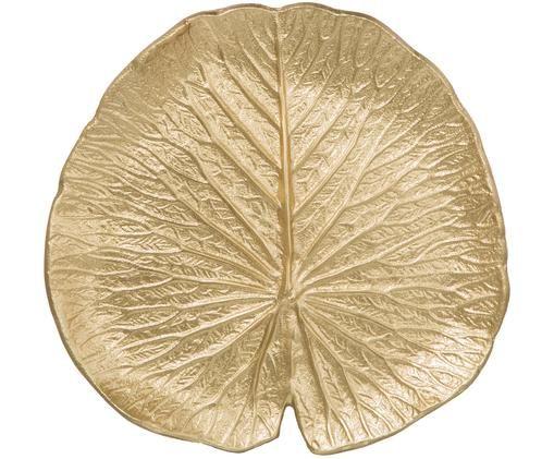 Miska dekoracyjna Sam, Aluminium powlekane, Odcienie złotego, S 23 x G 22 cm