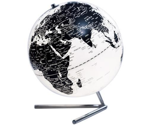 Lampa stołowa Globe, Czarny, biały, Ø 20 x W 30 cm
