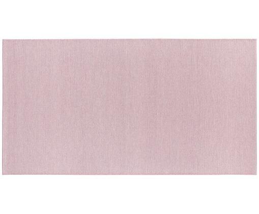 Dywan wewnętrzny/zewnętrzny Millau, Polipropylen, Blady różowy, S 80 x D 150 cm