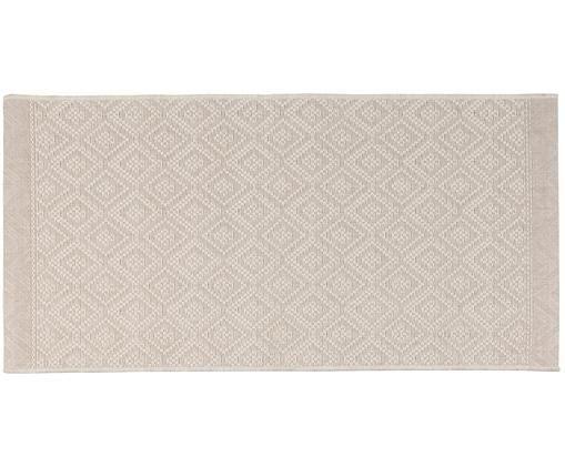 In- und Outdoorteppich Capri in Beige, Beige, Creme, B 70 x L 140 cm (Größe XS)