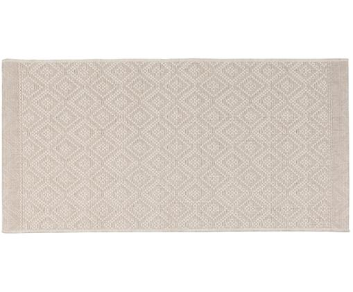 In- und Outdoorteppich Capri in Beige, Beige, Creme, B 70 x L 140 cm (Grösse XS)
