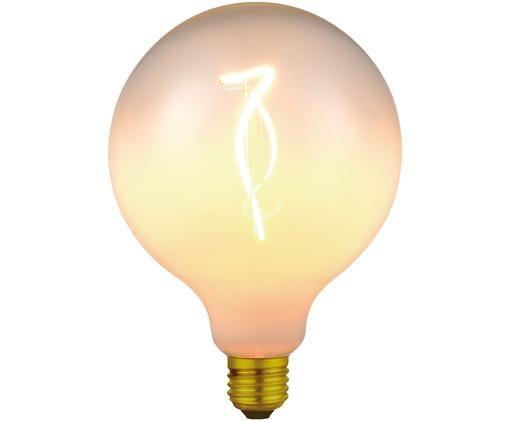 Lampadina a LED dimmerabile Colors Opal (E27 / 4Watt), Vetro, metallo rivestito, Bianco, ottonato, Ø 13 x Alt. 17 cm