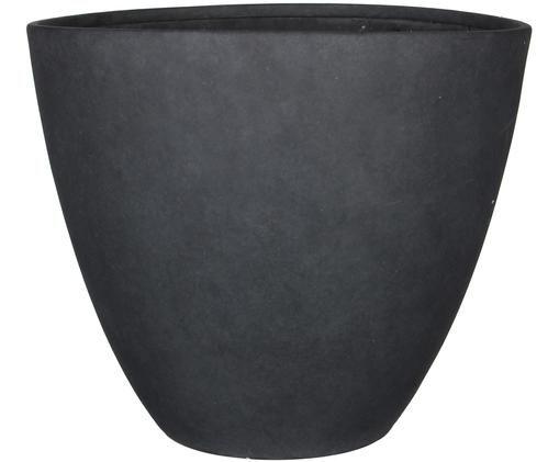 Fioriera Bravo, Materiale sintetico, Grigio scuro, Ø 37 x A 33 cm