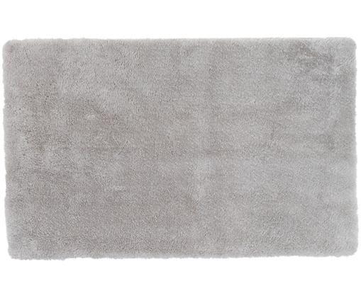 Tappetino da bagno antiscivolo Faro, Retro: TPR (gomma termoplastica), Grigio chiaro, Larg. 50 x Lung. 80 cm