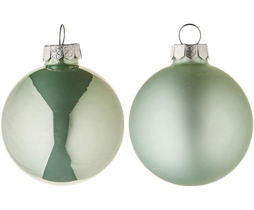Set palle di natale Evergreen, 10 pz., Verde