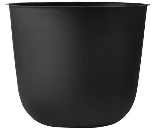 Portavaso Wire Pot, Acciaio, verniciato a polvere, Nero, Ø 23 x Alt. 17 cm