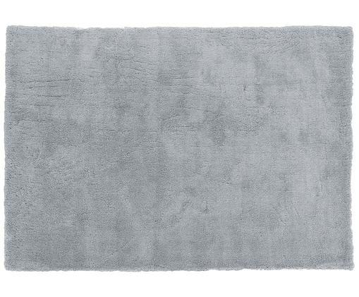 Flauschiger Hochflor-Teppich Leighton in Grau, Flor: 100% Polyester (Mikrofase, Grau, B 160 x L 230 cm (Größe M)