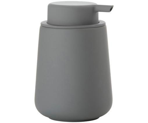 Porzellan-Seifenspender Nova, Grau, matt