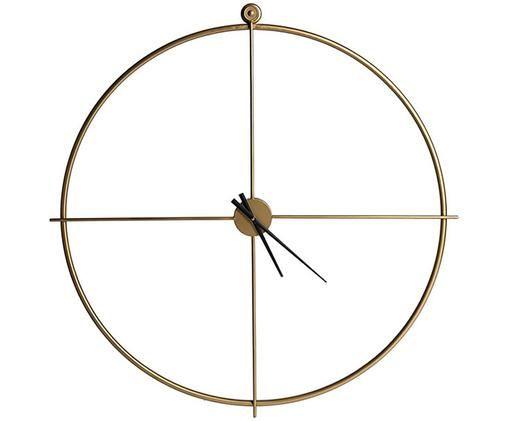 Orologio da parete XL Sphere, Ottonato