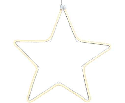 Stella decorativa a LED Star, Materiale sintetico, Trasparente, Ø 43 cm