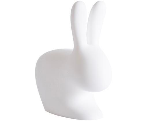 Outdoor LED tafellamp Rabbit, Kunststof (polyethyleen), Wit, 20 x 22 cm