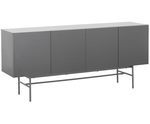 Enfilade moderne Anders, Corps: gris Pieds: gris, mat