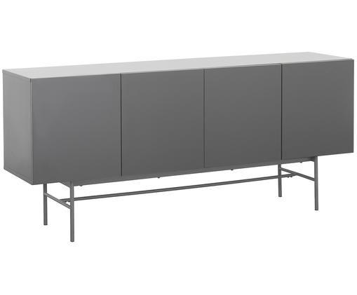 Modernes Sideboard Anders, Korpus: GrauFüße: Grau, matt
