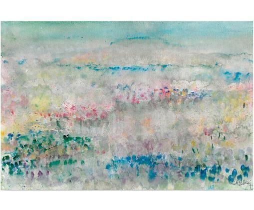 Impresión digital sobre lienzo Flores Silvestres