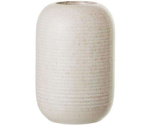 Vaso in terracotta Aya, Gres, Beige, Ø 11 x Alt. 17 cm