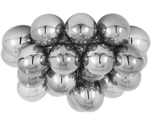 Plafonnier avec boules en verre Gross, Chrome