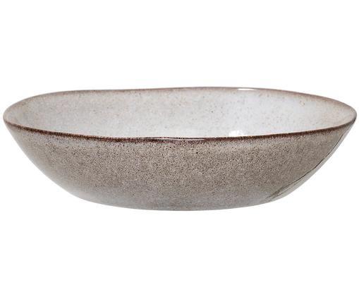 Ciotola fatta a mano Sandrine, Ceramica, Grigio chiaro, Ø 22 x A 5 cm