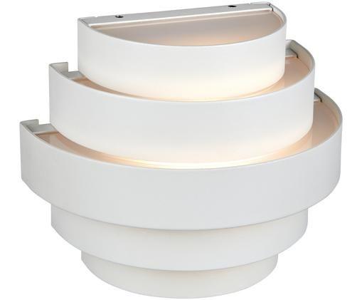 LED buitenwandlamp Etage, Wit