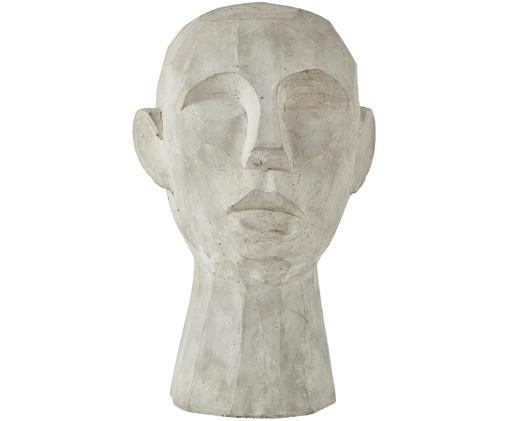 Figura decorativa Kopf, Gris