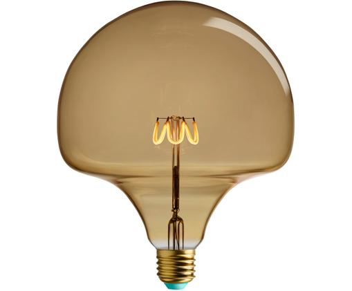Lampadina a LED Willow (E27 / 4,5 Watt), Vetro, alluminio, Ambra, Ø 10 x Alt. 11 cm