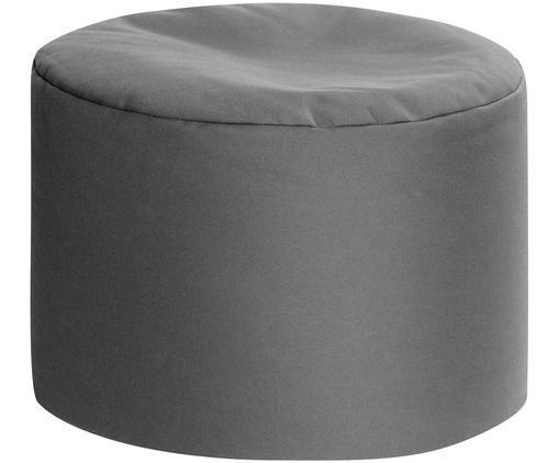Pouf sacco da esterno-interno Dotcom, Rivestimento: 100% poliacrilico poliacr, Antracite, Ø 60 x Alt. 40 cm