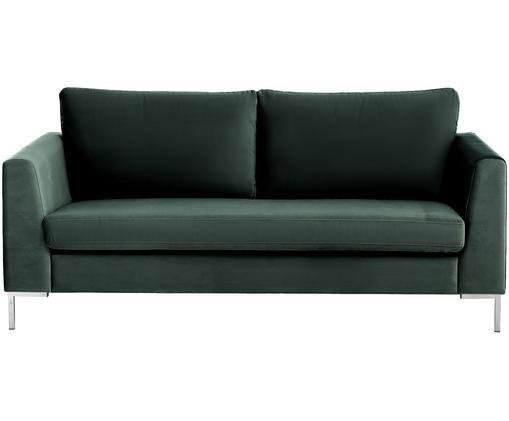 Sofá de terciopelo Luna (2plazas), Verde