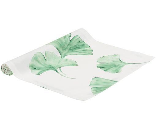 Runner Ginkgo, Bianco, verde